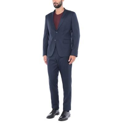 ロベルト カヴァリ ROBERTO CAVALLI スーツ ダークブルー 56 ポリエステル 83% / レーヨン 15% / ポリウレタン 2%