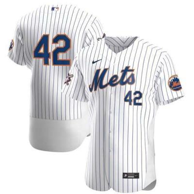 ナイキ メンズ Tシャツ トップス New York Mets Nike Home Jackie Robinson Day Authentic Jersey