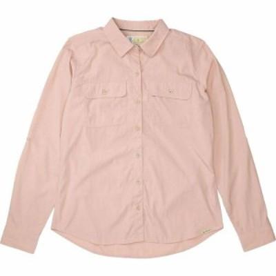 エクスオフィシオ ExOfficio レディース ブラウス・シャツ トップス BugsAway Breccia LS Shirt Pink Sand
