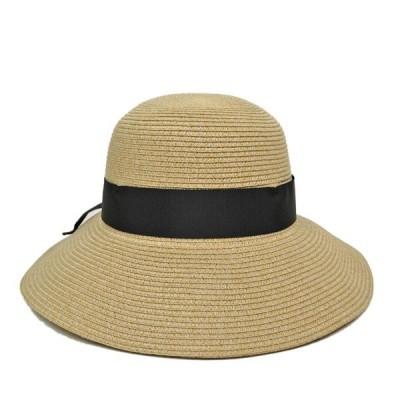 洗える広つばキャペリンハット UV 日よけ 紫外線カット 洗える たためる 57cm 59cm 大きいサイズ レディース 帽子