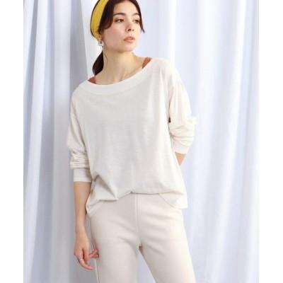 【ジェット】 リヨセルタンクトップ&シアーロングTシャツ セットアイテム レディース ホワイト 04(M) JET