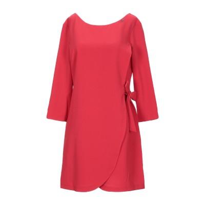 レリッシュ RELISH ミニワンピース&ドレス レッド 46 ポリエステル 93% / ポリウレタン 7% ミニワンピース&ドレス