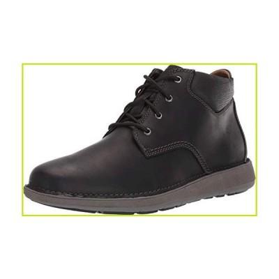 CLARKS Mens Un Larvik Top Lace-Up Boots, Black Oily Leather, Medium Width, Size 10.5【並行輸入品】