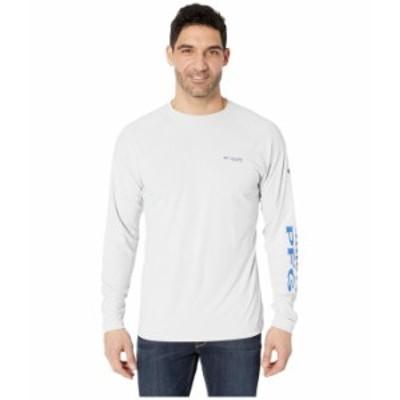 コロンビア メンズ シャツ トップス PFG Terminal Deflector¢ Long Sleeve Shirt Cool Grey/Vivid Blue