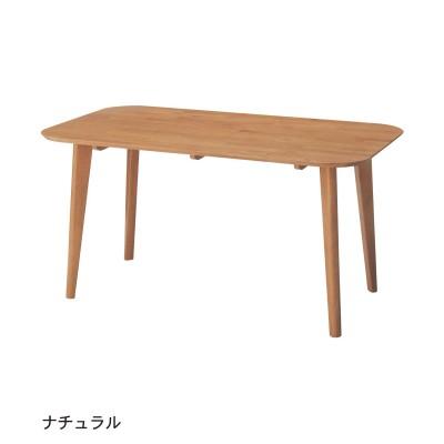 ダイニングソファーに高さをあわせたダイニングテーブル