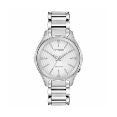 腕時計 シチズン レディース Citizen EM0590 54A Women's Modena Silver Quartz Watch