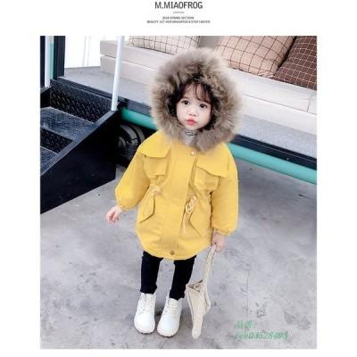 キッズコート 秋冬 コート 女の子 子供服 カジュアル ジャケット 防寒 カジュアル アウター 可愛い ジュニア