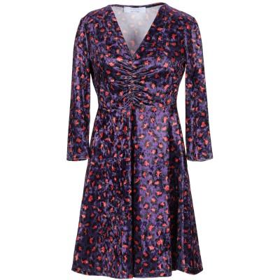 カオス KAOS ミニワンピース&ドレス パープル 42 ポリエステル 94% / ポリウレタン 6% ミニワンピース&ドレス