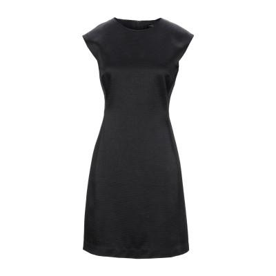 セオリー THEORY ミニワンピース&ドレス ブラック 6 アセテート 49% / ウール 27% / レーヨン 24% ミニワンピース&ドレス
