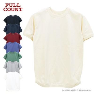 フルカウント FULLCOUNT Tシャツ フラットシームヘビーウェイト 5222 メンズ 日本製 半袖