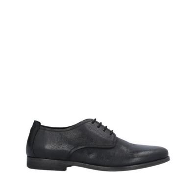 GIOVANNI CONTI メンズ レースアップシューズ 靴 ブラック