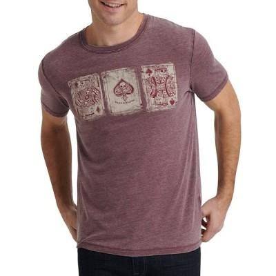 ラッキーブランド メンズ Tシャツ トップス Poker Cards Graphic Short-Sleeve T-Shirt Port Royal