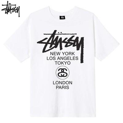 STUSSY ステューシー ワールドツアー Tシャツ クルーネック Stussy Tee st27