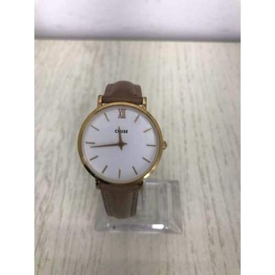クルース CLUSE レザーベルトクオーツ腕時計 レディース  中古 210319