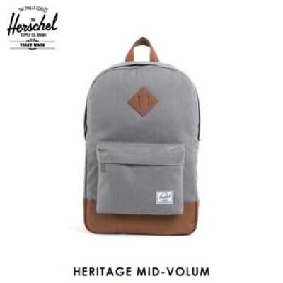 ハーシェル バックパック 正規販売店 Herschel Supply ハーシェルサプライ リュックサック バッグ 10019-00006-OS Heritage Mid-Volume G