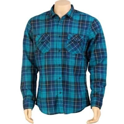 ユニセックス 衣類 アパレル KR3W Lowell Long Sleeve Shirt (blue)