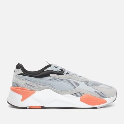 プーマ Puma メンズ ランニング・ウォーキング シューズ・靴 Rs X3 Running Style Trainers - Quarry/Quarry Grey/Blue
