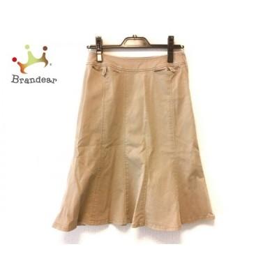 ニジュウサンク 23区 スカート サイズ0 XS レディース ベージュ DEUX       スペシャル特価 20201004