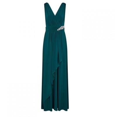 アリエラ ロンドン Ariella London レディース ワンピース マキシ丈 ワンピース・ドレス Ariella Akita Jersey Maxi Dress FOREST GREEN