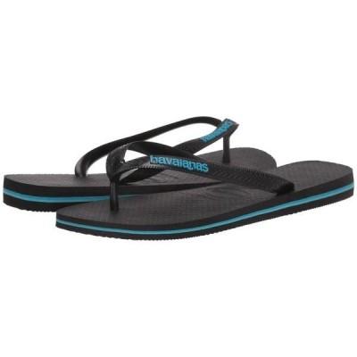 ハワイアナス メンズ サンダル シューズ Logo Filete Flip-Flops