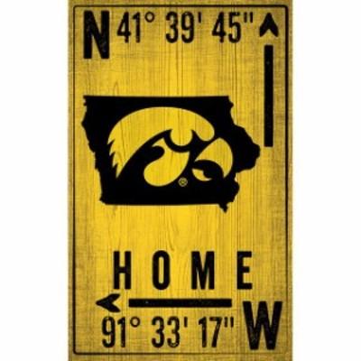 Fan Creations ファン クリエイションズ スポーツ用品  Iowa Hawkeyes 11 x 19 Coordinate Sign