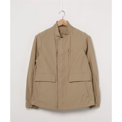 ジャケット ブルゾン スタンドカラー カバージャケット/ブルゾン