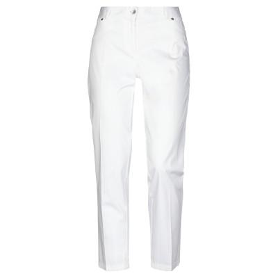 BLUKEY パンツ ホワイト 46 コットン 97% / ポリウレタン 3% パンツ