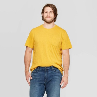 グッドフェロー Goodfellow & Co メンズ Tシャツ 大きいサイズ ポケット トップス Big & Tall Slub Pocket Graphic T-Shirt - Squash
