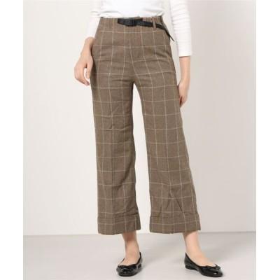 GRAMICCI / WILDTHINGS / 【GRAMICCI/グラミチ】WOOL BLEND DOUBLE MACKIN WIDE PANTS ウールブレンドワイドパンツ WOMEN パンツ > スラックス
