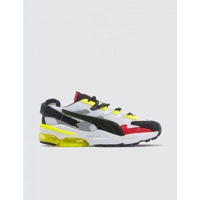 プーマ Puma メンズ スニーカー シューズ・靴 Ader Error X Cell Alien Sneakers White/Neon Yellow/Black