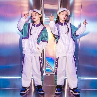 セット価格トップスダンスパンツ男の子女の子キッズダンス衣装ヒップホップダンス衣装HIPHOPキッズセットアップ子供練習着体操服ステージ衣装