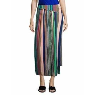 ダイアンフォンファステンバーグ レディース スカート Tailored Asymmetrical Overlay Skirt