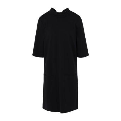 FREE PEOPLE ミニワンピース&ドレス ブラック XS レーヨン 68% / ナイロン 28% / ポリウレタン 4% ミニワンピース&ドレス