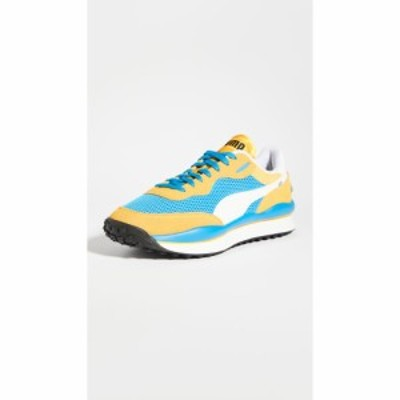 プーマ PUMA Select メンズ スニーカー シューズ・靴 style rider stream on sneakers Plat Blue/Spectra Yellow