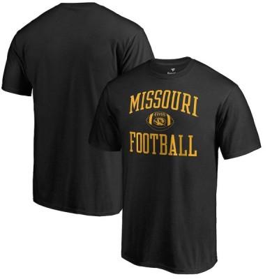 """ファナティックス メンズ Tシャツ """"Missouri Tigers"""" Fanatics Branded First Sprint T-Shirt - Black"""