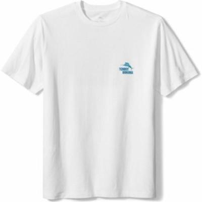トミー バハマ TOMMY BAHAMA メンズ Tシャツ トップス Hand Me the Screwdriver Graphic Tee White