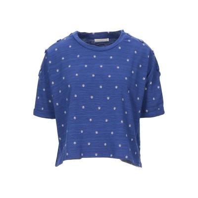 セッスン SESSUN T シャツ ブルー XS コットン 78% / テンセル 22% T シャツ