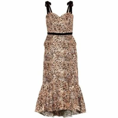 ジョアンナオッティ Johanna Ortiz レディース ワンピース ワンピース・ドレス Love Between Species dress Leopard Blush