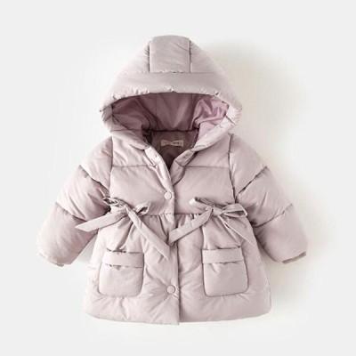 キッズ 中綿コート 中綿ジャケット アウター フッド付き 厚手 子ども 女の子 子供服 高品質 コート 冬 全店2点送料無料