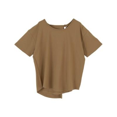 バックデザインカットソーTシャツ ティティベイト titivate (Tシャツ・カットソー)(レディース)T-shirts,
