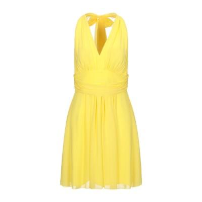 ALLURE ミニワンピース&ドレス イエロー 10 ポリエステル 100% ミニワンピース&ドレス