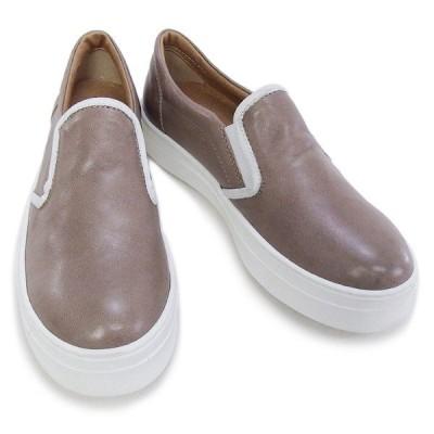 【在庫一掃セール】 デザイン マニファトゥーラ design manifattura 靴 レディース YORK スニーカー スリッポン グレージュ (1031 VITELLO ROUGE LINO)