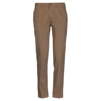 クルーナ CRUNA パンツ ブラウン 52 コットン 98% / ポリウレタン 2% パンツ