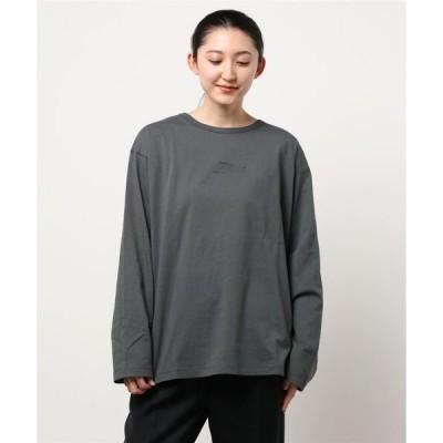 tシャツ Tシャツ エンボスロゴバックフォトプリントTシャツ