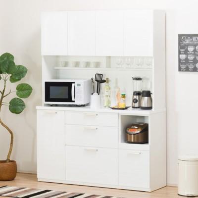 キッチンボード (ソレル 140KB WH) ニトリ 『配送員設置』 『5年保証』