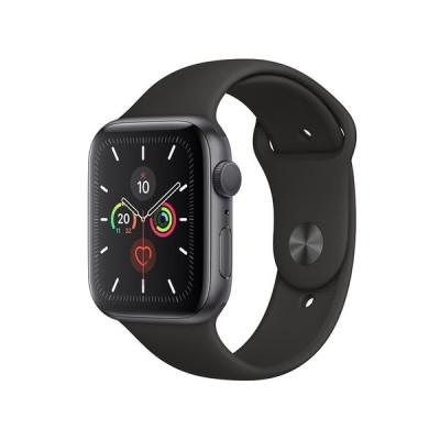 アップル Apple  Watch Series 5(GPSモデル)- 44mm スペースグレイアルミニウムケースとブラックスポーツバンド S/M  M/L MWVF2J/A