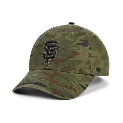 47ブランド メンズ 帽子 アクセサリー San Francisco Giants Regiment CLEAN UP Cap