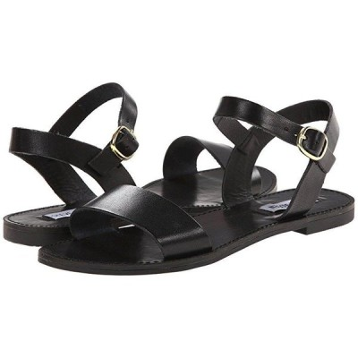 スティーブマッデン Donddi Sandal レディース サンダル Black Leather
