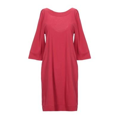 アルファスタジオ ALPHA STUDIO ミニワンピース&ドレス ガーネット 46 コットン 100% ミニワンピース&ドレス