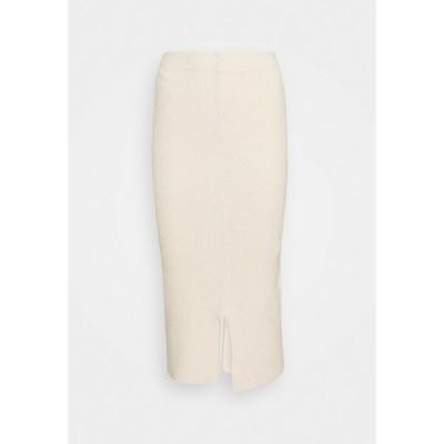 セレクテッドフェム スカート レディース ボトムス Pencil skirt - sandshell
